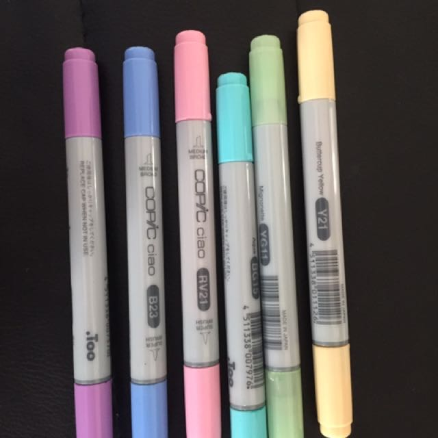 Pastel Copic Pack *Need Gone*