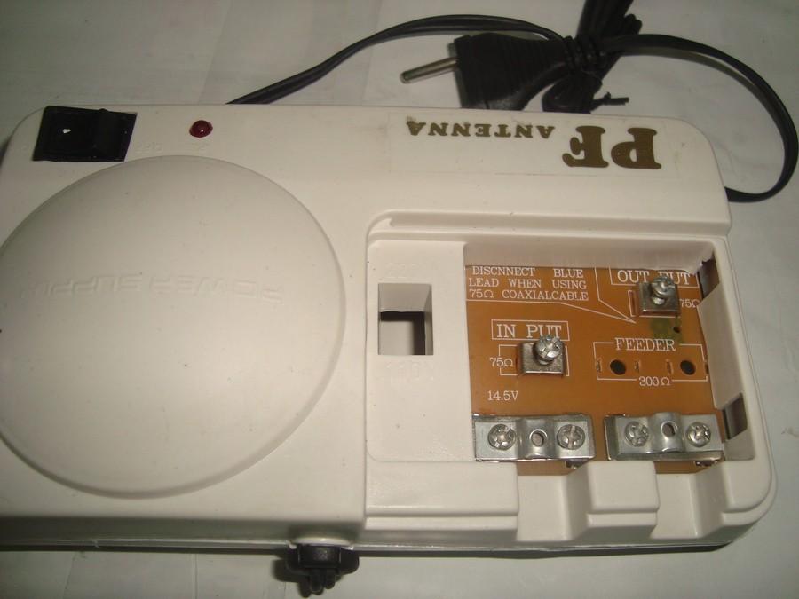 Penguat Sinyal TV Booster Outdoor Antena TV PF Dx W9900 Original Asli 1