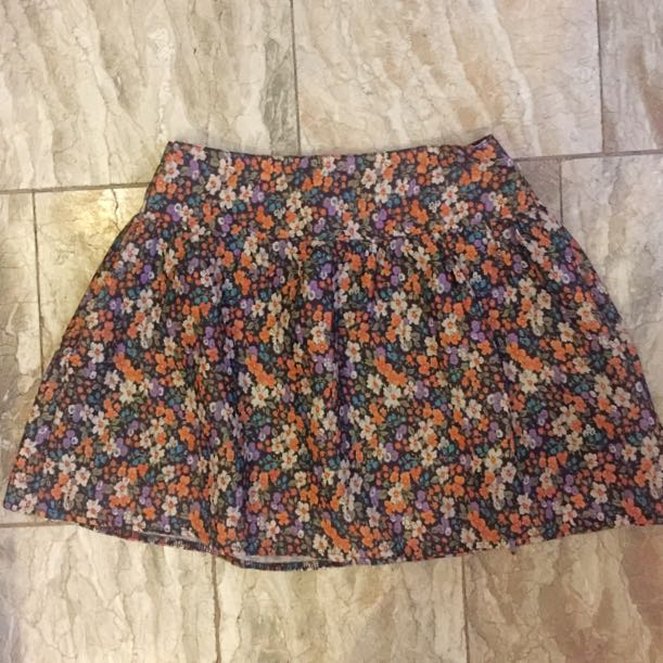 Pre Loved Aeropostale Floral Skirt