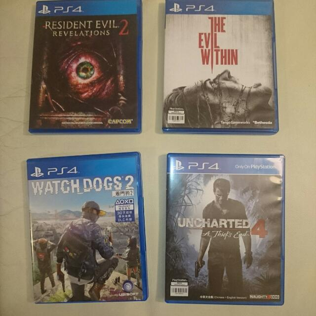 Ps4 Game - $150EACH/ 隻