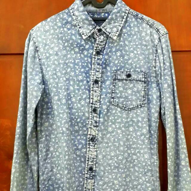 Pull&Bear Long Shirt