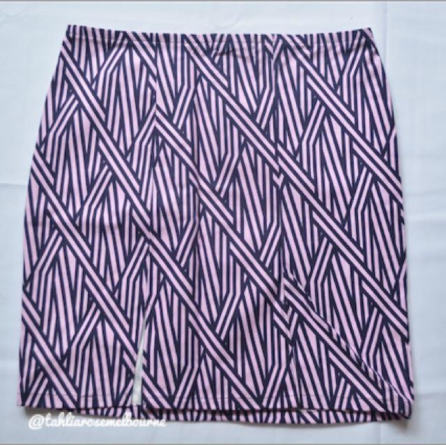 Purple Bamboo Skirt