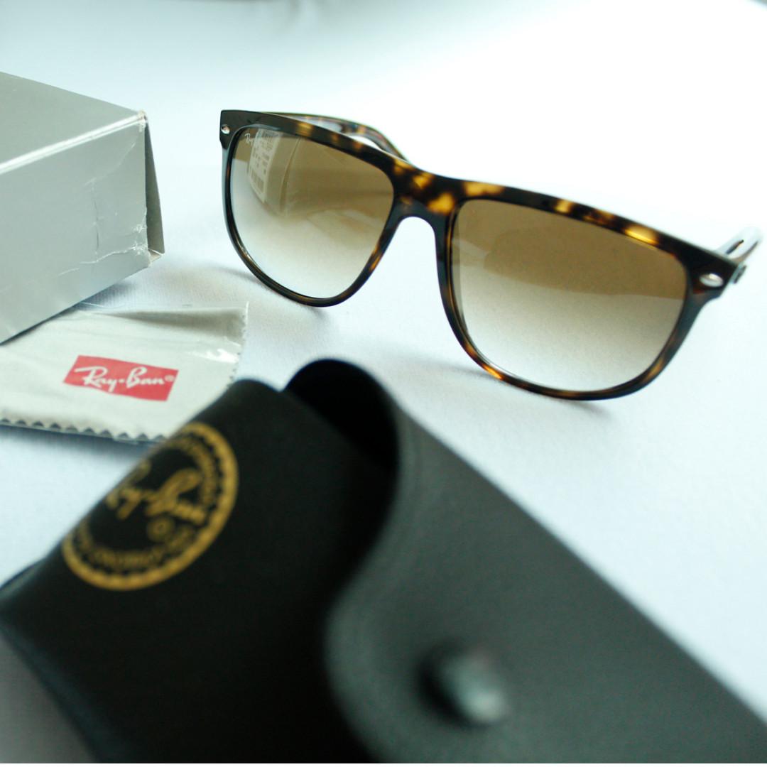 Ray Ban全新雷朋太陽眼鏡 RB4147琥珀色 墨鏡