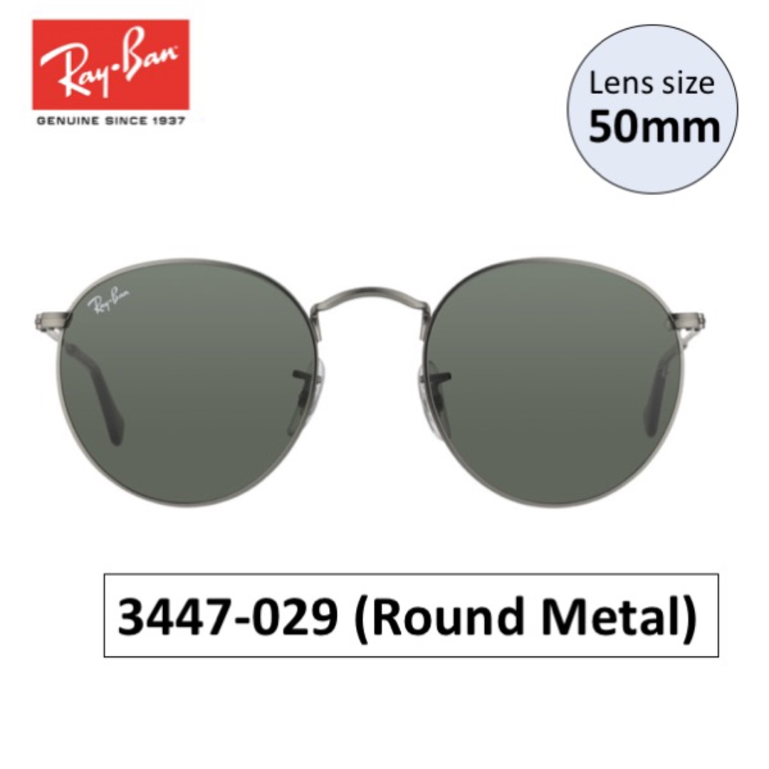 ab5fe726e4 Ray Ban Round Metal Size « One More Soul
