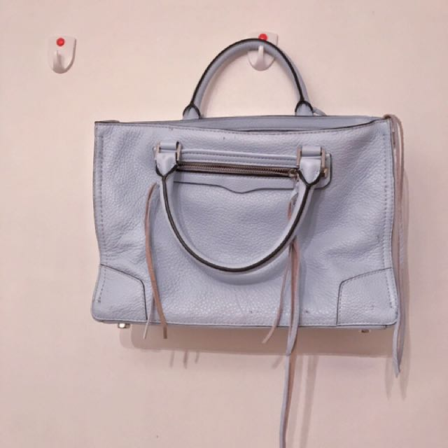 Rebecca Minkoff blue leather bag