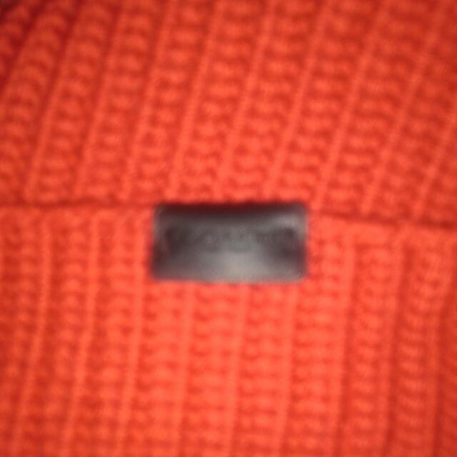 Selling Red Coach Winter Hat