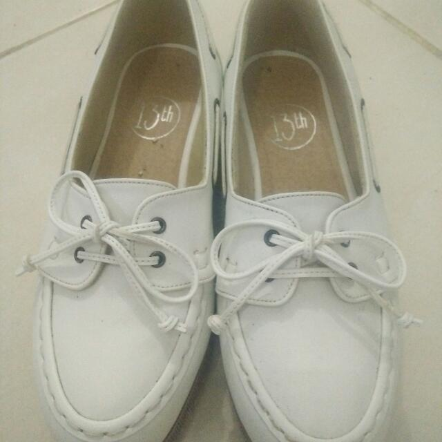 Shoes White Merk 13th