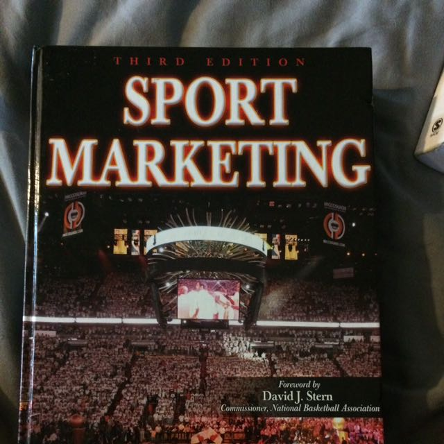 Sport Marketing Textbook!