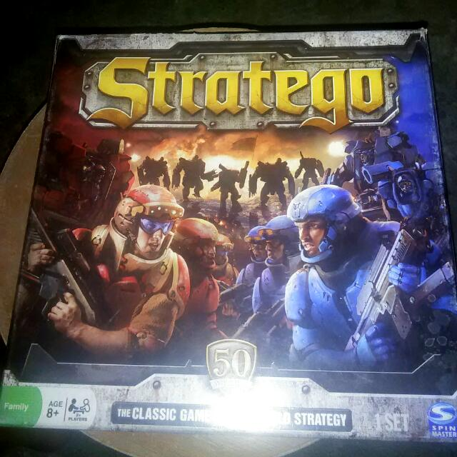 Stratego Board Game Games Of The General Like