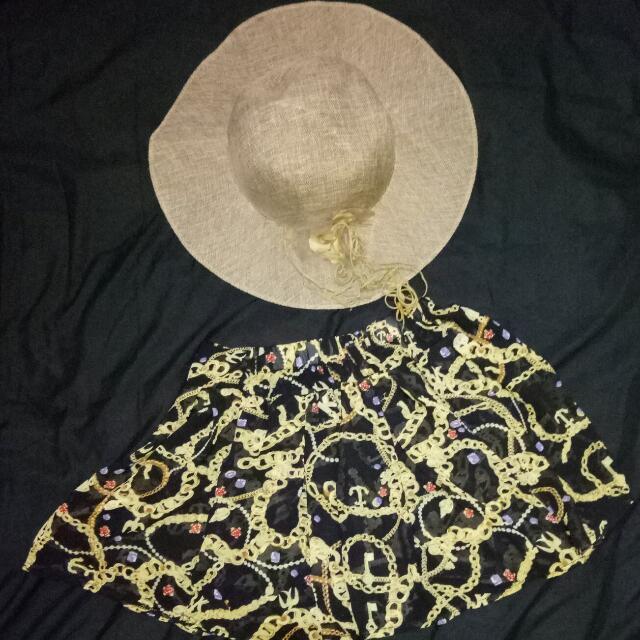 Summer Sheer Skirt and Hat