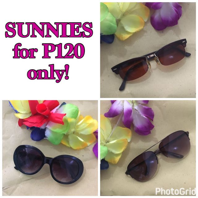 Sunglasses for P120 on our page!!