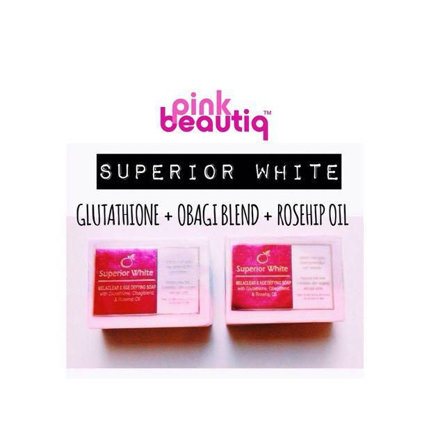 Superior White - Whitening & Micropeeling Soap