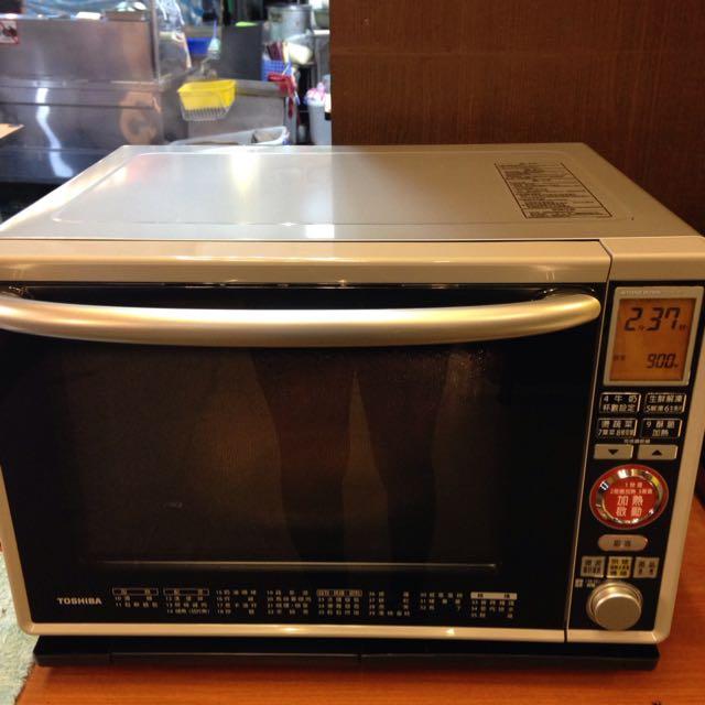 Toshiba過熱水蒸氣烘烤微波爐