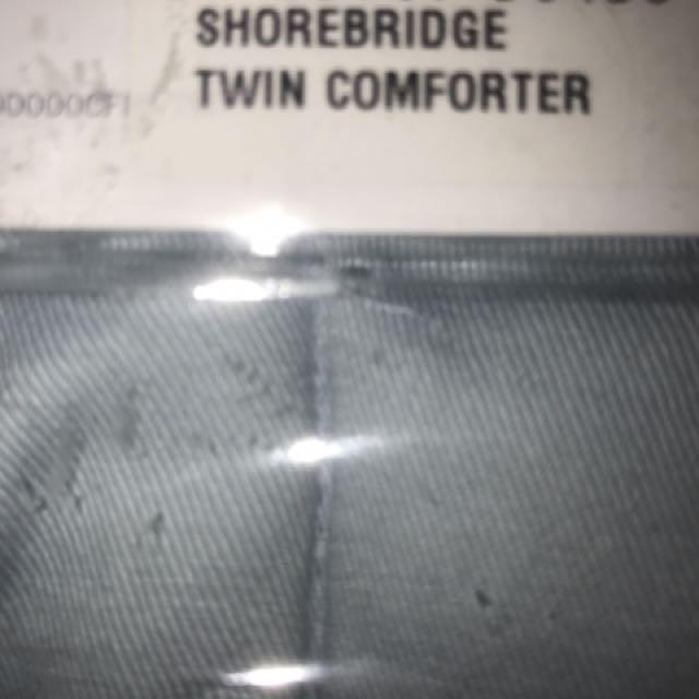 Twin Comforter Light Blue