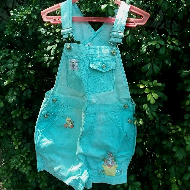 66435414db0 Vintage Girls Romper By Warner Brothers  Free Shipping!