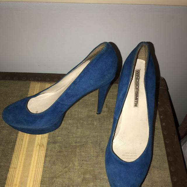 Windsor Smith Blue Shoes