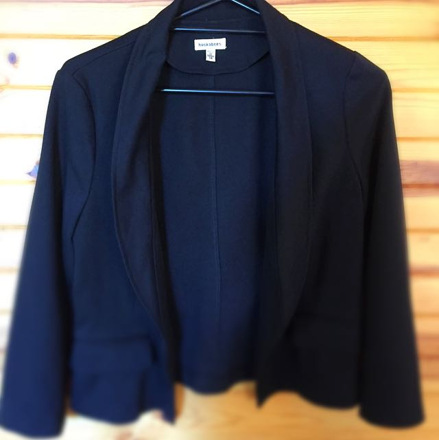 Women's Black Fitted Jacket