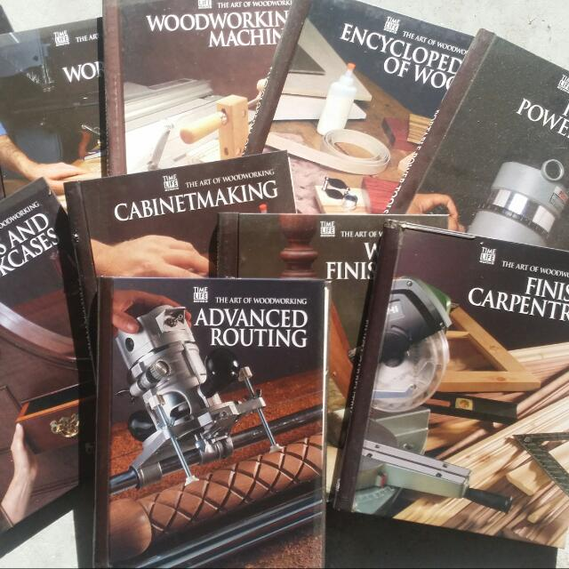 Wood Craftsmanship exclusive series  Books