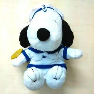 Snoopy水手毛公仔