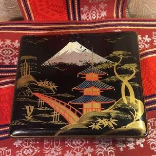 Vintage Japanese Jewellery Box