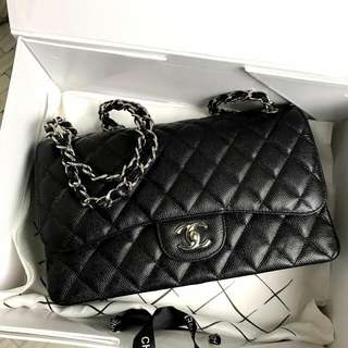 Chanel Caviar Classic With Flap 30cm