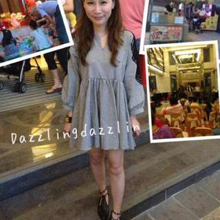 轉售 小首爾商行 Dazzlingdazzlin 熱賣款 洋裝