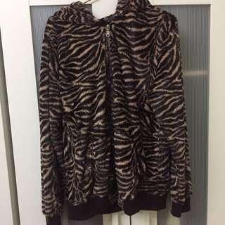 動物紋外套