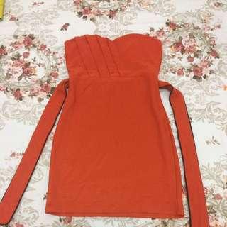 Mini Dress (orange)