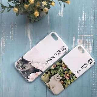 學生平價-貓手機殼