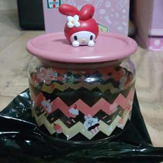 7-11 樽樽滿JOY玻璃樽系列 MY MELODY蛋糕玻璃樽 #MAYSALE