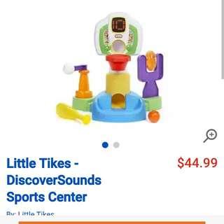 Little Tikes Discover Sounds Sport Centre