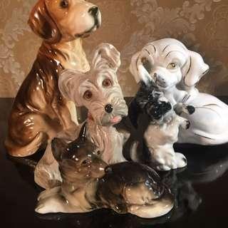 Dog Figurine Collection