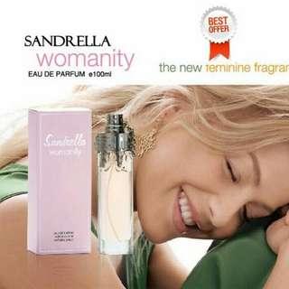 PARFUM SANDRELLA WOMANITY FOR WOMAN BPOM ORIGINAL - SANDRELLA WOMANITY