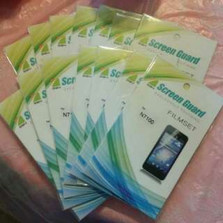 Samsung Note 2 保護貼 screen protector