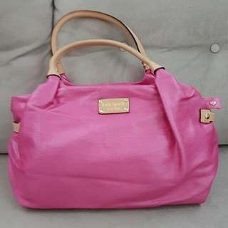 Kate Spade Pink Tote Bag