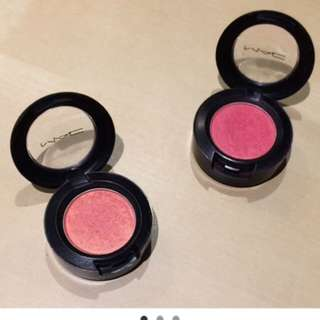 MAC single eye shadows