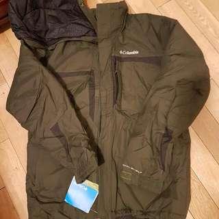 BNWT Columbia Winter Jacket