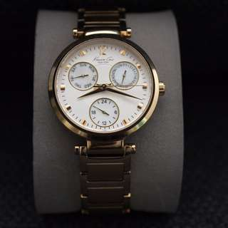 Kenneth Cole gold watch