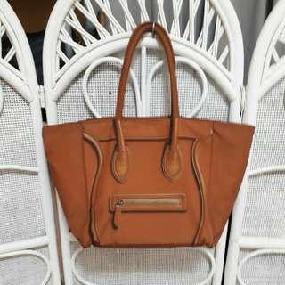 🚚 橘色手提包