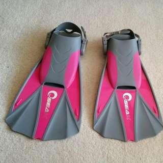 SEAK Flippers L-Xl 9-13
