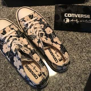 Limited Edition Andy Warhol Chuck Taylor Converse Size 9 (women's)