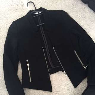 Casual Black Blazer From Valley Girl