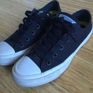 Converse Black And White Allstar II
