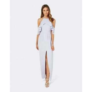 Forever New lilac Skylar Maxi Ruffle Dress