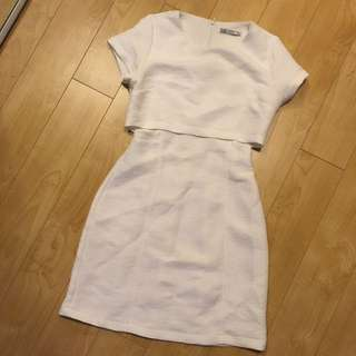 Dress With Carve Out Detail