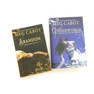 SET: Abandon series by Meg Cabot