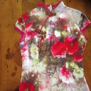 Genuine Chinese Silk Dress