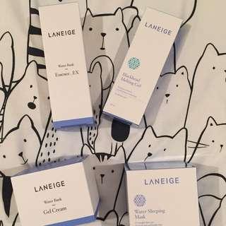 NEW! Laneige Water Bank Series, Blackhead Gel, Sleeping Mask