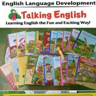 Talking English Interactive Books