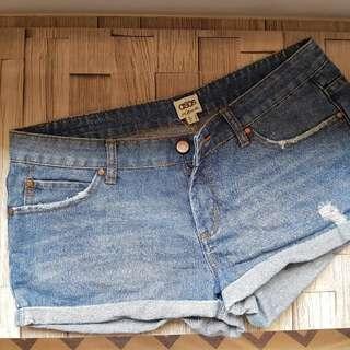 ASOS Denim Hot Shorts
